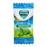 Леденцы от боли в горле и облегчения дыхания Vicks 1 шт.