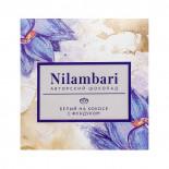 Шоколад белый на кокосе с фундуком Nilambari 65г