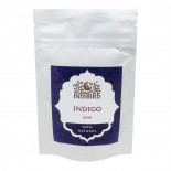 Хна для волос Басма 100% натуральная Indibird 50г