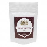 Хна для волос Темно-коричневая 100% натуральная Indibird 50г