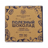 Горький шоколад на меду с орехом пекан (bitter chocolate) Добро 90г