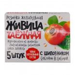 Живица таёжная с шиповником (жвачка из смолы) Алтайский нектар 5шт