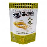 Зеленый чай с женьшенем (green tea) Black Dragon | Блэк Драгон 100г