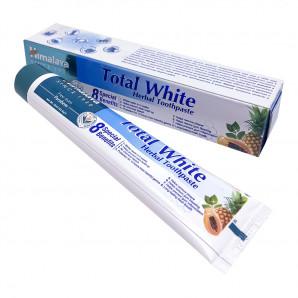 Отбеливающая зубная паста (Total white toothpaste) Himalaya | Хималая 50мл