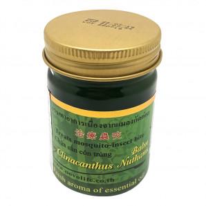 Бальзам с клинакантусом нутансом (зеленый)  Twin Lotus, 50г