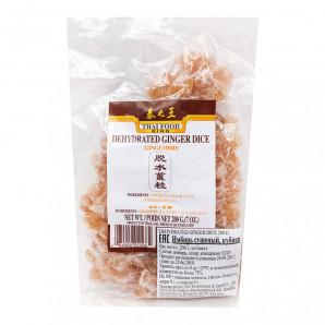 Имбирь засахаренный Thai Food King кубики 200г