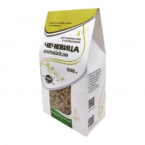 Чечевица Алтайская для проращивания (lentils) LifeWay | Образ Жизни 500г