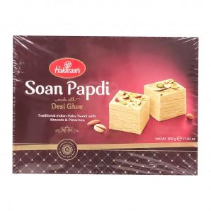 Индийская сладость Соан Папади Haldiram`s 500г