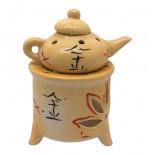 Аромалампа для эфирных масел «Чайник на камине» керамическая