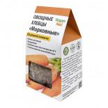 Овощные хлебцы на закваске Морковные Vegan food | Веган фуд 100г