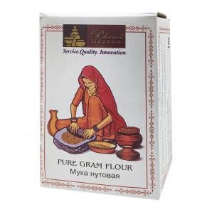 Нутовая мука (chickpea flour) Bharat Bazaar | Бхарат Базар 1кг