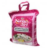 Рис Басмати индийский непропаренный (Малиновый) Nano Sri 5кг