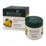 Массажный крем для лица Био семена айвы (massage face cream) Biotique | Биотик 50г