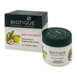 Осветляющий крем для лица Био кокос (anti blemish cream) Biotique | Биотик 50г