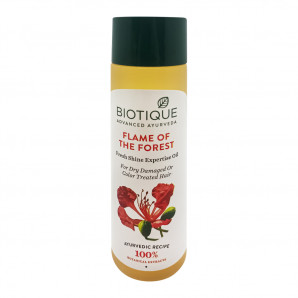 """Масло для волос """"Био лесное пламя"""" Biotique 120мл"""