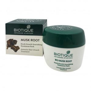 """Маска для волос """"Био мускусный корень"""" восстанавливающая Biotique 230г"""