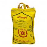 Пропаренный рис Басмати (basmati rice) Elite Awan | Аван 5кг