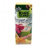 Кокосовая вода с ананасом, маракуйя, манго (coconut water) King Island | Кинг Айлэнд 250мл