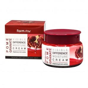 Увлажняющий крем для лица с экстрактом граната | Pomegranatе Visible Difference Moisture Cream Farm Stay 100г