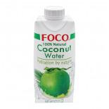 Вода кокосовая Foco 330мл