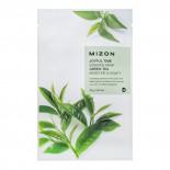 Тканевая маска для лица с экстрактом зелёного чая (Joyful time essence mask green tea) Mizon | Мизон 23г