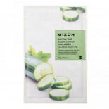 Тканевая маска для лица с экстрактом огурца I Joyful Time Essence Mask Cucumber Mizon 23г