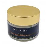 Массажный крем для лица с золотом и маслом ши (massage face cream) Khadi | Кади 50г