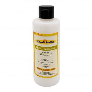 Кондиционер для волос «Зеленый чай и алоэ вера» (hair conditioner) Khadi | Кади 210мл