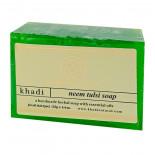 Натуральное мыло с нимом и тулси Khadi | Кади 125г