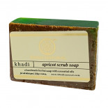 Мыло-скраб для лица с маслом абрикоса (scrub-soap) Khadi | Кади 125г