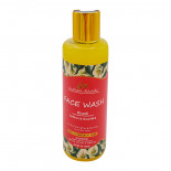 Пенка для умывания антивозрастная с шафраном и козьим молоком (cleansing foam) Indian Khadi | Индиан Кади 210мл