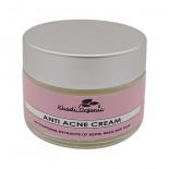 Регулирующий крем для проблемной кожи с нимом, базиликом и чайным деревом (face cream) Khadi Organic | Кади Органик 50г