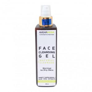 Гель очищающий для нормальной и сухой кожи лица Amsarveda 200мл
