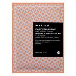 Тканевая маска для лица антивозрастная (Anti wrinkle mask) Mizon | Мизон 30мл