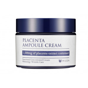 Антивозрастной крем для лица с плацентой (placenta ampoule cream) Mizon | Мизон 50мл
