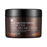 Восстанавливающий крем для лица с экстрактом улитки (Snail repair cream) Mizon | Мизон 75мл