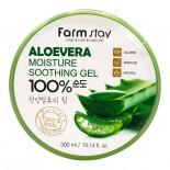 Многофункциональный гель с экстрактом алоэ Aloe Vera Moisture Farm Stay 300мл