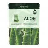Увлажняющая тканевая маска с экстрактом алоэ | Visible Difference Mask Sheet Aloe Farm Stay 23мл