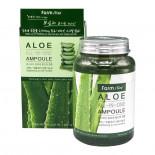 Многофункциональная ампульная сыворотка (Aloe all in one ampoule) Farm Stay | Фарм Стэй 250мл
