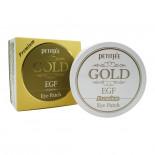 Гидрогелевые патчи для глаз с золотом (Gel eye patch premium gold and EGF) Petitfree | Петитфи 60шт