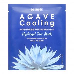 Гидрогелевая маска охлаждающая с экстрактом агавы Petitfee 32г