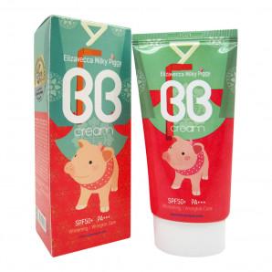 ББ-крем с гиалуроновой кислотой и коллагеном | Milky Piggy BB Cream SPF50+ PA+++  Elizavecca 50мл
