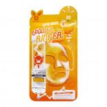 Тканевая маска для лица с витаминным комплексом (Deep power ringer mask pack vita) Elizavecca | Элизавекка 23мл