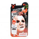 Тканевая маска с экстрактом красного женьшеня (Deep power ringer mask pack red ginseng) Elizavecca | Элизавекка 23мл