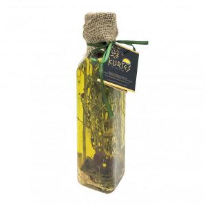 Оливковое масло Extra Virgin с чабрецом, чили и горчицей Kurtes 250мл