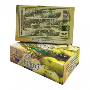 Оливковое мыло Green Line c ароматом мирта Kurtes 90г