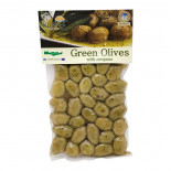 Зеленые оливки с орегано (olive) Kurtes | Куртэс 250г