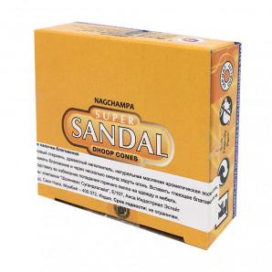 Благовоние конусы Сандал (Sandal incense sticks) HEM | ХЭМ 10шт