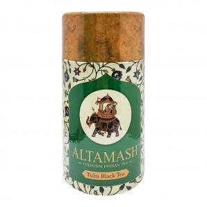 Индийский чай черный байховый с тулси (black tea with tulasi) Altamash | Алтамаш 100г