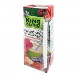 Кокосовая вода с клубникой, гранатом и виноградом (coconut water) King Island | Кинг Айлэнд 250мл